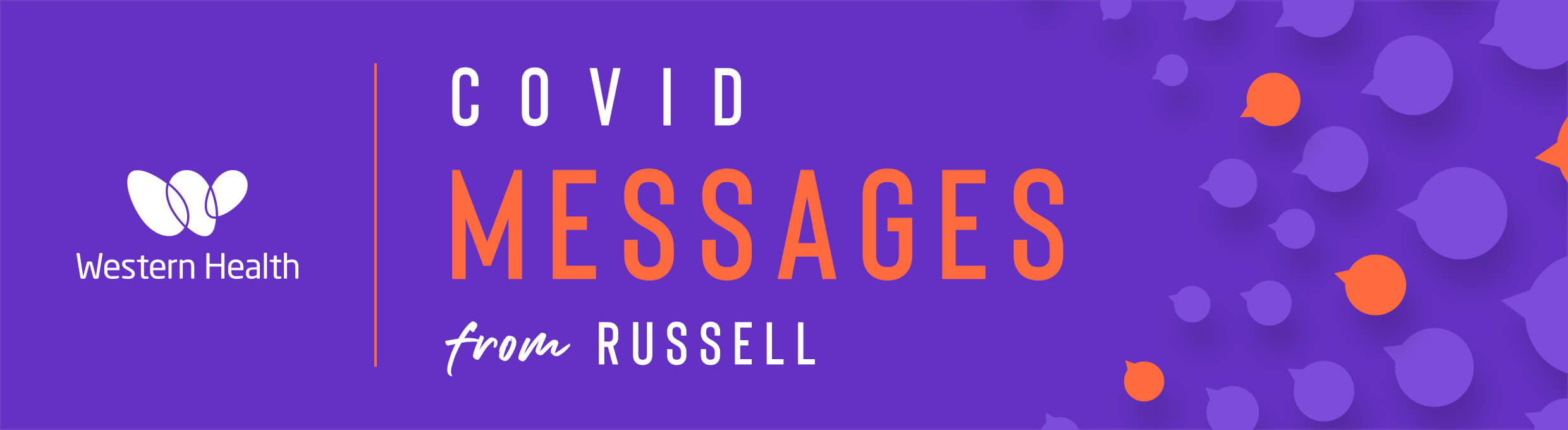 Covid Messages from Russell